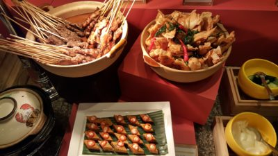 Taste Of Discovery Buffet By Latest Recipe @ Le Meridien Sentosa, Singapore - Satay, Otak and Prawn Wanton