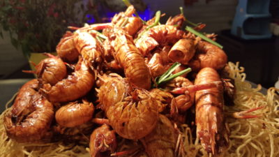 'Ultimate Prawn Party' By Makan@Jen At Hotel Jen Orchardgateway Singapore - Lemongrass & Chili Yabbies