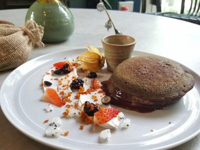 Grounded By CMCR at Robertson Quay, Singapore - Matcha Pancakes ($16)