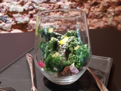 Epiphyte Cafe At Neil Road In Tanjong Pagar, Singapore - Terrarium ($8, add $3 for rum)