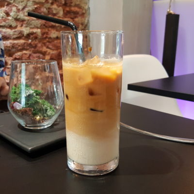 Epiphyte Cafe At Neil Road In Tanjong Pagar, Singapore - Cafe Latte Cold ($6)