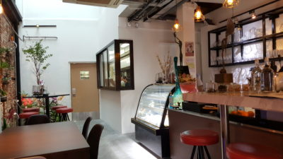 Epiphyte Cafe At Neil Road In Tanjong Pagar, Singapore - Counter View