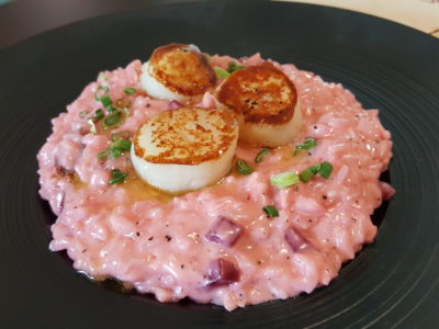 Epiphyte Cafe At Neil Road In Tanjong Pagar, Singapore - Pink Risotto ($22)