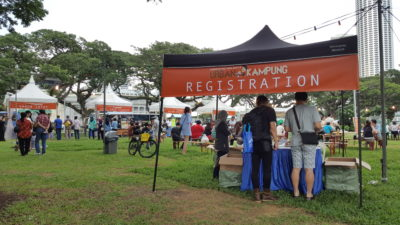 The Ultimate Satay Challenge 2016 At Urban Kampung - Registration Counter
