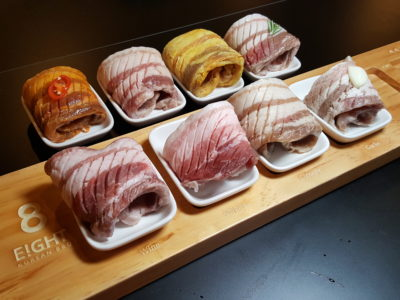 8 Korean BBQ At Shaw Centre In Orchard, Singapore - 8 Colours Set ($98)
