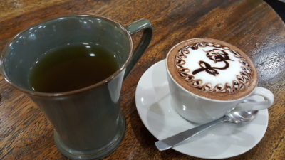 Tokyo Connection At Bandung Indah Plaza In Bandung, Indonesia - Ocha Hot (IDR 12k) & Hot Chocolate (IDR 24k)
