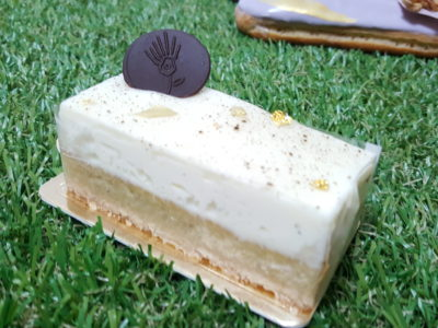 Amiral Atelier At Paragon In Orchard, Singapore - Vanilla Rum Slice ($8.50)