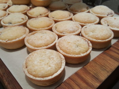 Jolly Jingles Christmas 2016 At Marriott Tang Plaza In Orchard, Singapore - Minced Pies with Brandy Butter