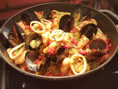 Jolly Jingles Christmas 2016 At Marriott Tang Plaza In Orchard, Singapore - Seafood Pallae