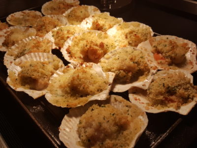 Jolly Jingles Christmas 2016 At Marriott Tang Plaza In Orchard, Singapore - Gratinated Scallops