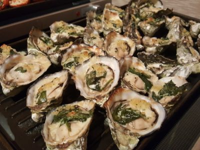 Jolly Jingles Christmas 2016 At Marriott Tang Plaza In Orchard, Singapore - Oyster Florentine