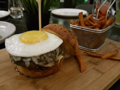 Portico Prime At Dempsey Singapore - Portico signature burger