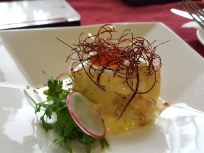 Lunar New Year 2017 Buffet At Furama City Centre - Torched Pacific Wrasse With Ebiko Wasabi Hollandaise & Chilli Thread