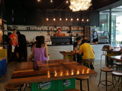 RevoluShen Wave At Revolution Coffee In One North, Singapore - Overview