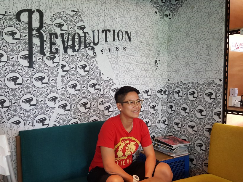 RevoluShen Wave At Revolution Coffee In One North, Singapore - Chef Shen