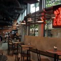 Alter Ego Cafe By A Poke Theory At Esplanade - View of the dinning area with signage