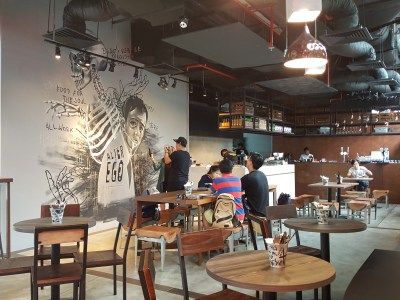 Alter Ego Cafe By A Poke Theory At Esplanade - Another view of the dinning area