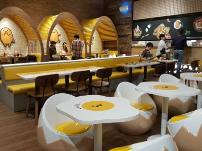 Gudetama Cafe Singapore At Suntec City - Overview