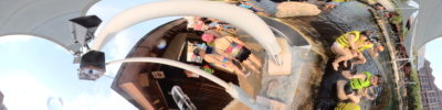 Exploring Adventure Cove Water Park With Casio FR200 - Panorama mode