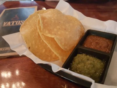 Vatos Urban Tacos At South Beach - Complimentary Tortilla Chips