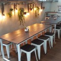 Botantist Cafe At Neil Road In Outram, Singapore - Another view of outdoor dinning area