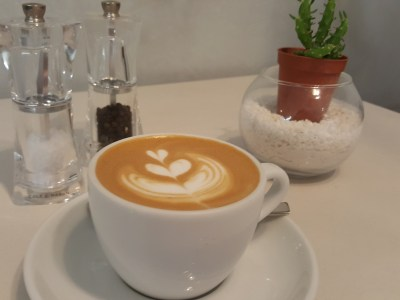 Botanist Cafe At Neil Road In Outram, Singapore - White 5oz ($5)