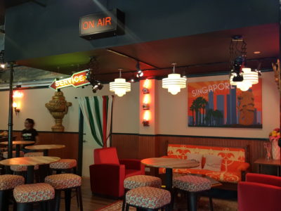 Central Perk, F.R.I.E.N.D.S Theme Cafe, At Central Mall - Cast Theme Dinning Area