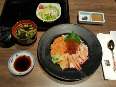 RAS Epicurean Star Award Singapore 2016 Winners Dinning Promotions Highlight - Sumiya's Special Dinner, Hokkai Sashimi Mori Don Set ($32.80)