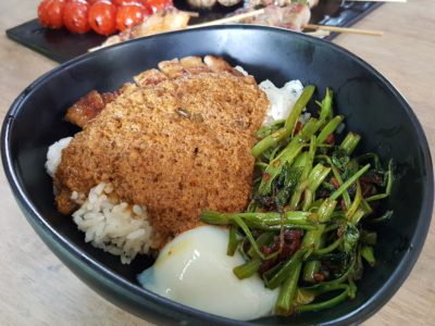 Kush At Timbre Singapore - Curry Chicken Donburi ($10)