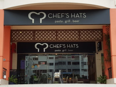 Chef's Hat At Hougang Green Singapore - Chef's Hat Facade