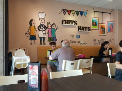 Chef's Hat At Hougang Green Singapore - Chef's Hat Interior