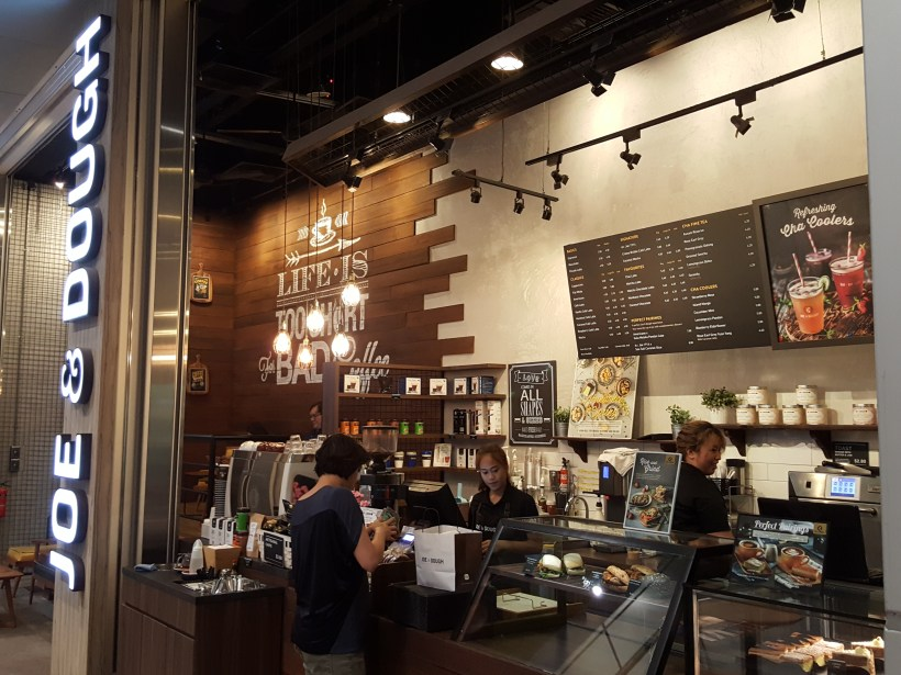 Top 5 Fave Food And Drinks At Joe & Dough - Orchard Gateway Outlet Facade