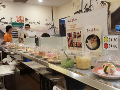 Sushi Mentai At Junction Nine In Yishun, Singapore - Sushi on Conveyor Belt