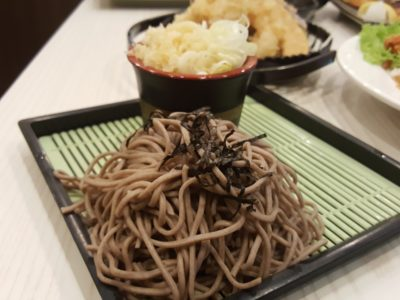 Sushi Mentai At Junction Nine In Yishun, Singapore - Zaru Soba ($6.50)
