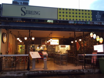 Stirling Bar & Grill At Cheong Chin Nam Road - Facade