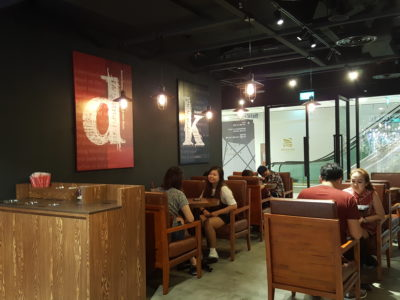 Dal.komm Cafe At Centrepoint - Interior