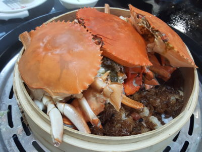 Just Steam 纯蒸 At North Bridge Road - Glutinous Rice with Crab