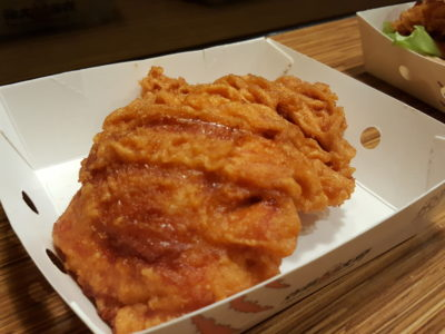 Taiwan's Fried Chicken Master At NEX - Running Jimbo ($4.80)