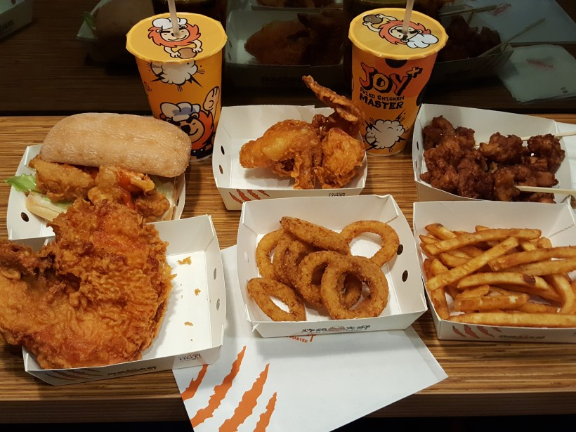 Taiwan's Fried Chicken Master At NEX - Feast