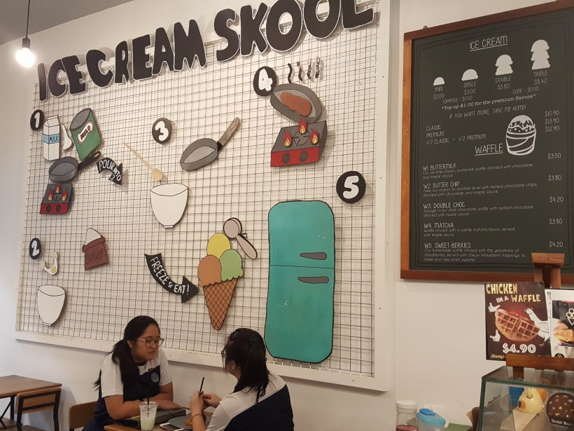 Ice Cream Skool At Tampines Street 42 - Interior