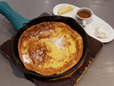 D'Good Cafe @ Ngee Ann City, London Subway Theme - Classic Deutsch Skillet Pancakes ($8)