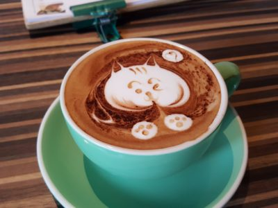 Carol Mel Cafe Re-visit, At Irvin Place - Cappuccino