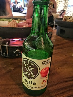Hansul Korean Dining Bar At Tanjong Pagar - Cha Eul Su Rok, Apple Soju (S$18++)