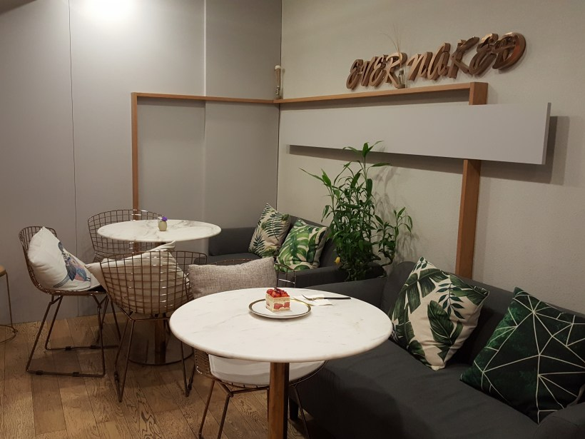 Ever Naked Bakery At Julu Road, Jingan, Shanghai, China - Another dinning area