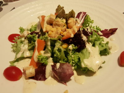 Sufood Introduces New Salad And Truffle Dishes To Their 8-course Dinner Set - Caesar Salad