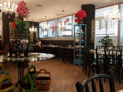 The Peranakan Restaurant At Claymore Connect - Interior Dinning Area