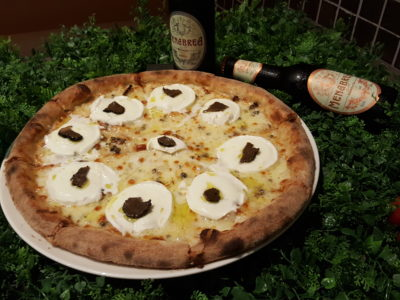 South Beach Avenue, The D-Place To Be For Everyone - Atmastel, Black Truffle Pizza ($48)