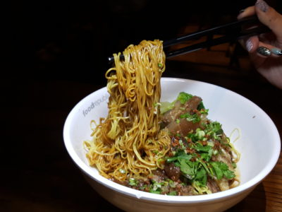 Revamped With New Tenants At Food Republic VivoCity - Hok Kee Authentic Hong Kong Noodle & Congee, Assorted Beef Noodles ($8.50)