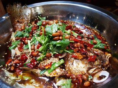 Revamped Food Republic VivoCity With New Tentants - Imperial Hot Pot, Wushan Grilled Fish ($26)
