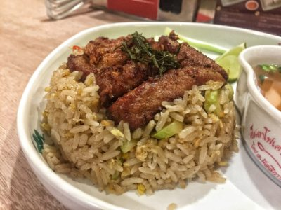 Yentafo Kruengsonge @ Kallang Wave Mall, 'yen ta fo' Specialist Introduces New Menu – Spicy Fried Rice with Tuk Tuk Herbal Pork